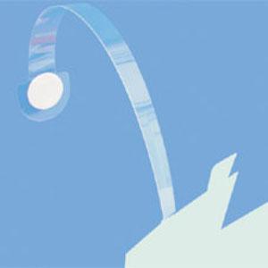 Lengő címketartó, lengőkar / wobbler