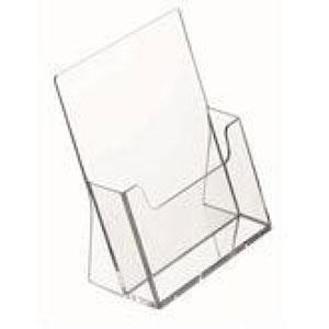 Szórólaptartó asztali A5