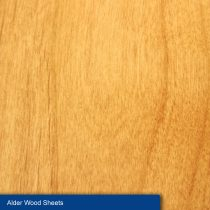 Alder Wood Sheets, 305 x 102 x 2 mm