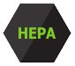 HEPA filter logo